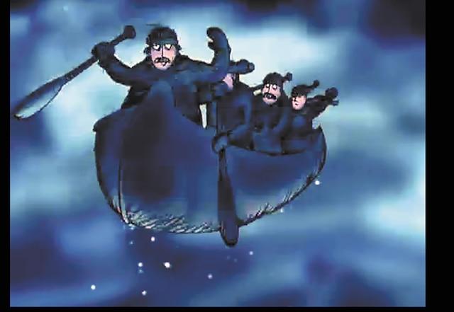 La légende du canot d'écorce est un court métrage d'animation réalisé par Robert Doucet en 1996 pour le compte de l'Office national du film.