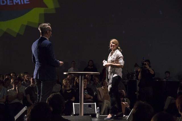Francis Gosselin et Mélanie Joly