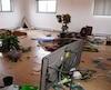 Le centre culturel musulman a été saccagé dans la nuit de lundi à mardi. La SQ enquête.