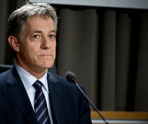 Le commissaire Renaud Lachance.