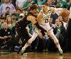 Jayson Tatum, des Celtics, a récolté 24 points, mercredi soir, lors du cinquième match des finales de l'Association Est de la NBA.