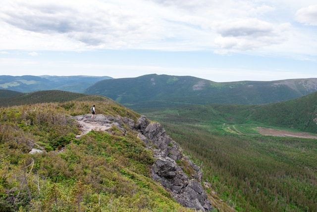 Randonnée sur le mont Xalibu.