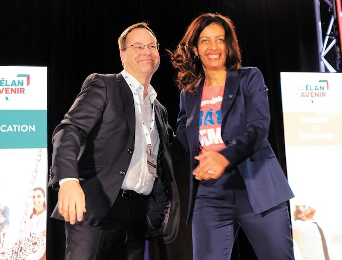 Alexandre Cusson  et Dominique Anglade