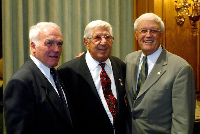 Henri Richard, Elmer Lach et Claude Raymond