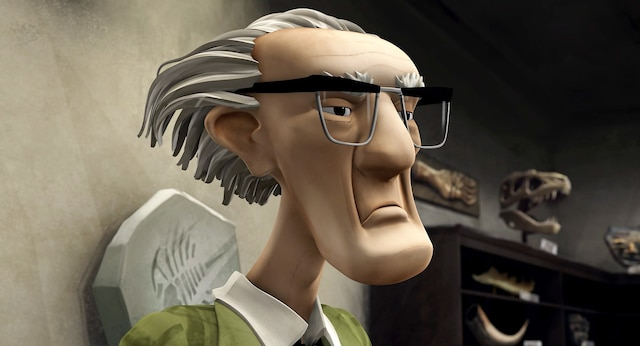 Le professeur Taylor aura la voix de Colm Feore dans la version anglaise de <i>Nelly et Simon: Mission Yéti</i>. Pour l'acteur ontarien, ce sera une première expérience en animation.