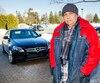 Salvatore D'Urso devant sa voiture au sujet d'une demande de retours collectif Montreal, Québec, Canada. Le mardi 19 mars 2019 PHOTO: MARTIN ALARIE / JOURNAL DE MONTREAL / AGENCE QMI