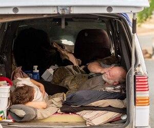 Gretchen Fritsch et Jay Michael ont été contraints d'évacuer leur domicile