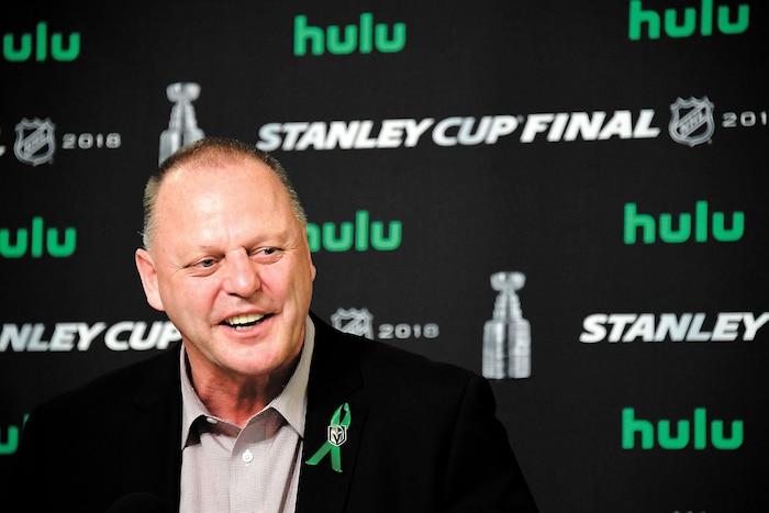 Gerard Gallant en a fait du chemin avant de devenir entraîneur en chef dans la LNH.