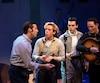 Ed Murphy, Christo Graham, George Krissa et Sky Seals interprètent les principaux rôles de la comédie musicale <i>Million Dollar Quartet</i>.