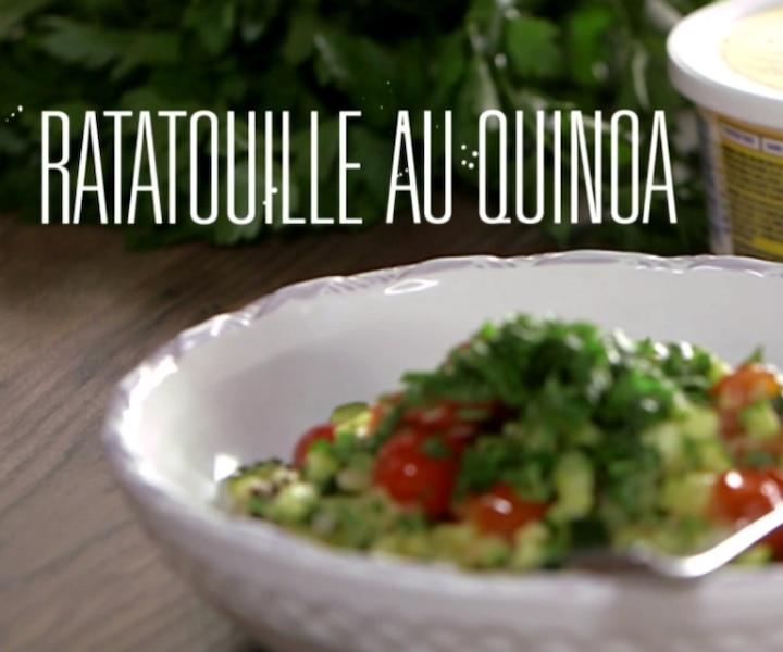 Essayez cette délicieuse ratatouille au quinoa