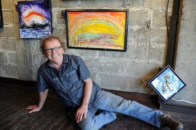 Après 30 ans de carrière, André Bouchard a pignon sur rue sur la rue Saint-Paul.