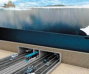 En 2014, la Chambre de commerce de Lévis avait entrepris une croisade pour un troisième lien sous-fluvial entre Québec et Lévis. Cette esquisse, qui n'est pas représentative du projet actuel, avait été diffusée.