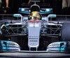 Lewis Hamilton a été impressionné par le comportement de sa Mercedes, lors des essais de la semaine dernière.