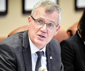 Le grand patron d'Investissement Québec, Pierre Gabriel Côté
