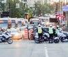 C'était la congestion totale au centre-ville de Montréal, hier, à l'heure de pointe.