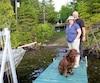 Julie et Michel Brouillette sont tous deux agents de la conservation de la faune pour le ministère des Ressources naturelles et de la Faune.