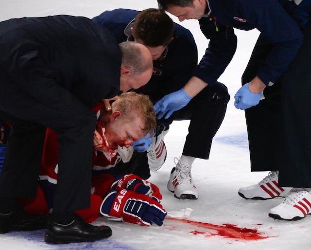 Lars Eller blessé au visage.