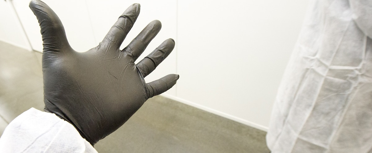 Le port des gants