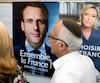 Presidentielle electeurs france macron Le Pen