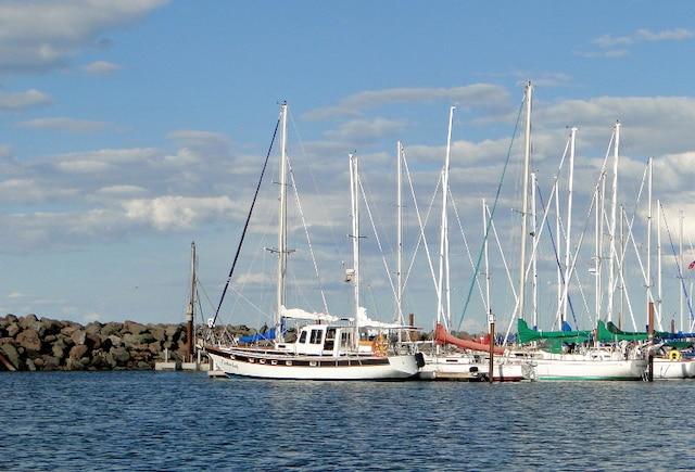 La marina de Shediac