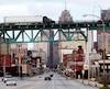 Pont Ambassador, à Detroit.