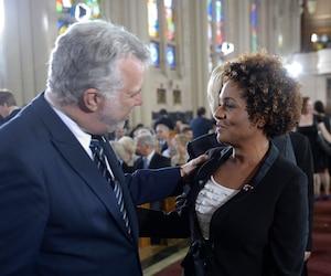 Philippe Couillard et Michaëlle Jean