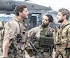 David Boreanaz, Neil Brown Jr. et Max Thieriot dans SEAL Team (mercredi 21 h à CBS et Global).