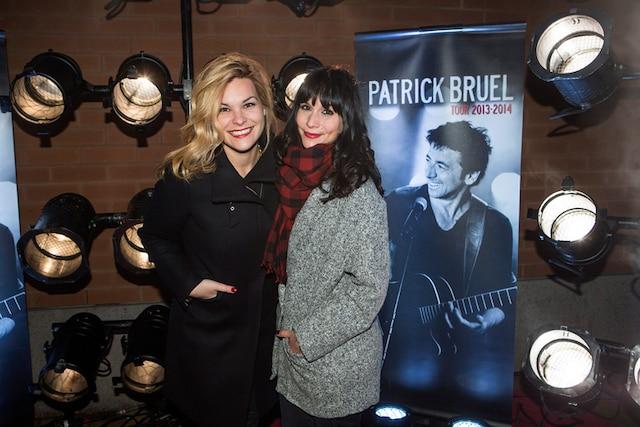 Kim Rusk et Amélie B. Simard