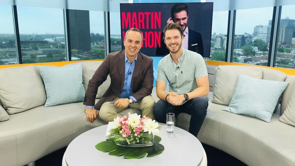 Martin Vachon poursuit sa tournée partout au Québec