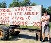 Marcel Vallée a été condamné en septembre 2018 à une amende de 500$, plus 239$ de frais, pour «enseigne d'opinion non conforme».