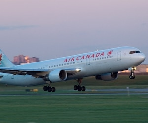 Bloc Air Canada avion