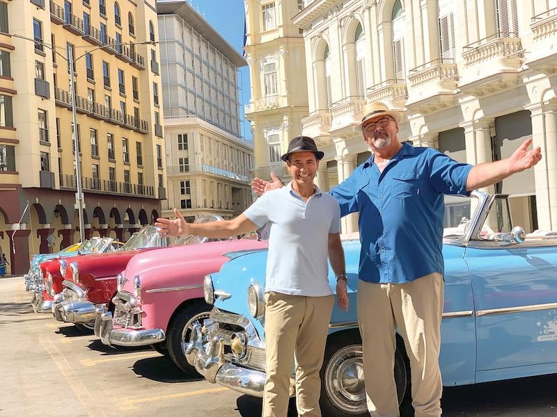 José Gaudet et Gildor Roy sont deux vrais passionnés de voitures.
