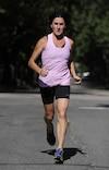 Sylvie Boisvert n'en finit plus de trotter, peu importe la distance. Elle s'apprête tout d'abord à courir le marathon des Deux Rives, ce dimanche.
