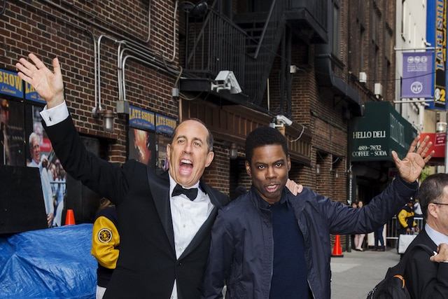 Jerry Seinfeld et Chris Rock