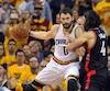 Kevin Love et les Cavaliers de Cleveland ont complètement dominé les Raptors mercredi soir.