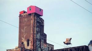 Image principale de l'article Une cabane rose est apparue mystérieusement à MTL