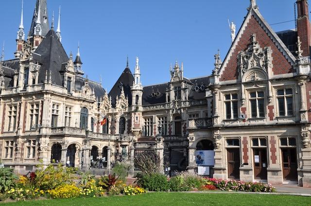 Le palais Bénédictine de Fécamp.
