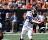 Trevor Siemian a pris les choses en mains pour les Broncos avec quatre passes de touché, dont deux cruciales au quatrième quart.