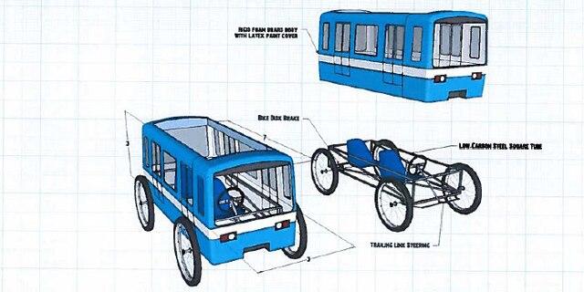 L'équipe Wacky Wagon souhaite démontrer que le métro demeure la façon la plus rapide de se déplacer à Montréal.