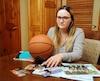 Alexandra Lupien a dû faire une croix sur le basketball et sur une carrière de vétérinaire après un accident dans un cours d'initiation au badminton.
