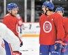 Nick Suzuki et Ryan Poehling tenteront de se tailler un poste avec le Canadien.