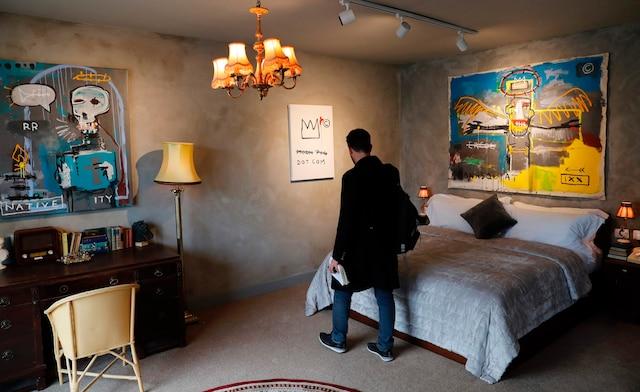 Chaque chambre de l'hôtel Banksy est unique et éclectique.