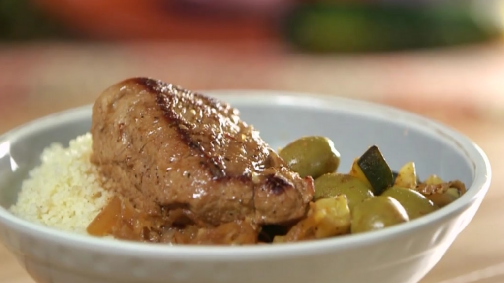 Filet de porc à la marocaine