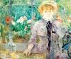 L'huile sur toile À la campagne (Après le déjeuner) de Berthe Morissot en 1881.