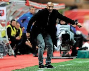 Thierry Henry ne l'a pas eu facile lors de son bref passage comme entraîneur-chef de l'AS Monaco.