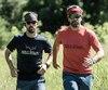 Daniel Barriault et Jacob Racine entendent marcher de 12 à 14 heures par jour pendant 10 jours.
