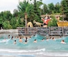 La nouvelle piscine à vagues près du Familizoo.