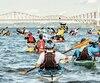 Le Défi Kayak Desgagnés propose une épopée de 250 kilomètres en kayak, accessible, que l'on aborde en peloton, en formule solo ou tandem, complète ou à relais.