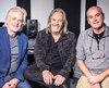 Louis Valois, Serge Fiori et Michel Normandeau se sont réunis à l'occasion de la sortie de l'album Harmonium XLV.
