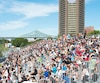 Environ 45000personnes ont assisté au Grand Prix de Formule E qui s'est déroulé au centre-ville de Montréal les 29 et 30 juillet derniers et qui a causé bien des maux de tête aux résidents et aux commerçants du secteur enclavé pendant un mois.